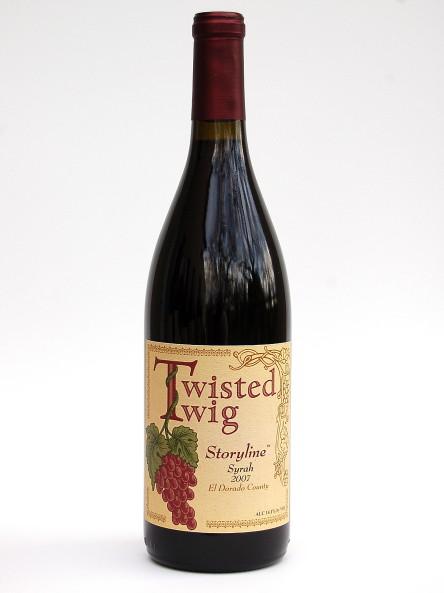 Tiwsted Twig Storyline Syrah 2007
