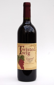 Twisted Twig Legend Zinfandel  2007