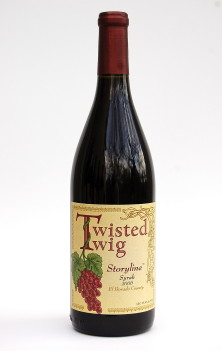 Twisted Twig Storyline Syrah 2006